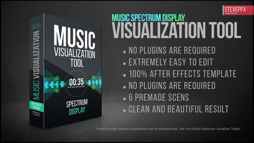 Music Visualization Tool   Reactive Audio Spectrum