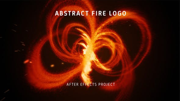 Thumbnail for Abstract Fire Logo