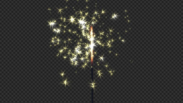 Thumbnail for Holiday Sparkler Transition