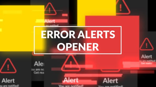 Error Messages Glitch Opener