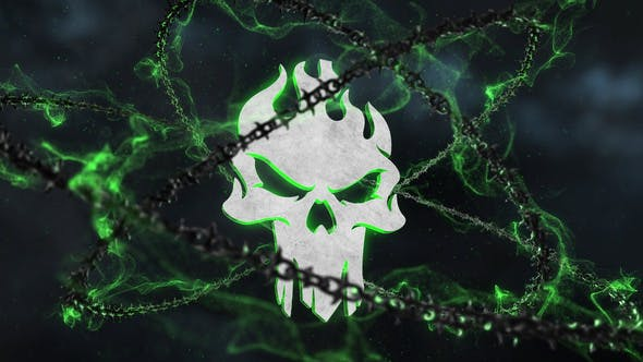Thumbnail for Dark Chains Horror Logo