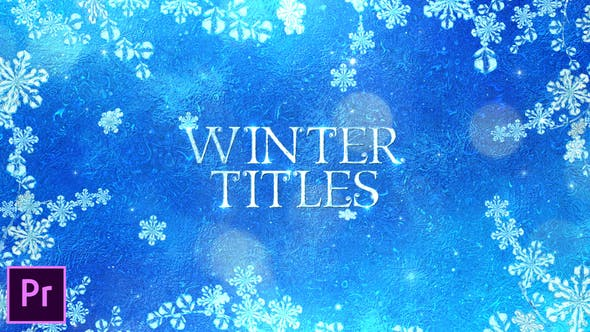 Thumbnail for Winter Titles - Premiere Pro