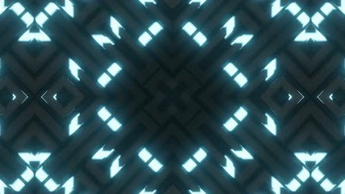 Blue Lighting Neon Background V2