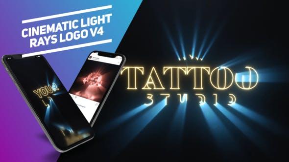 Thumbnail for Cinematic Light Rays Logo v4