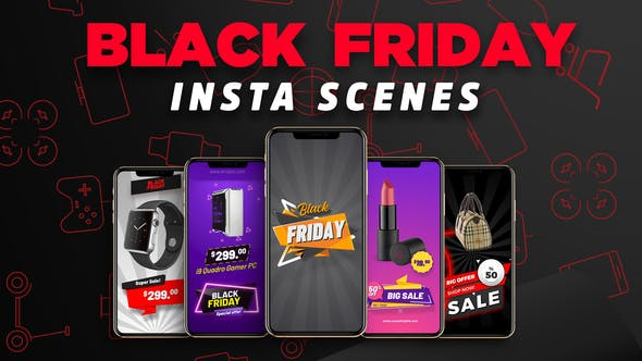 Thumbnail for Black Friday Insta Scenes