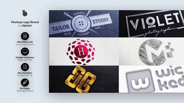 Thumbnail for Mockups Logo Reveal