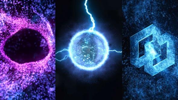 Energy Vortex Logo Reveal