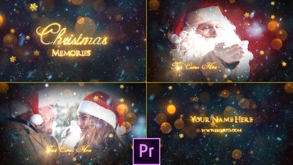 Cover Image for Christmas Memories Slideshow - Premiere Pro