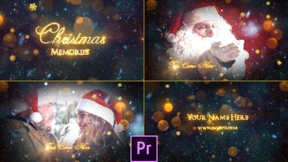 Thumbnail for Christmas Memories Slideshow - Premiere Pro