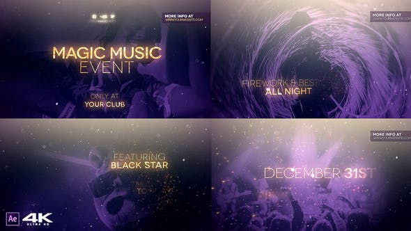 Thumbnail for Événement Magic Music v2.0