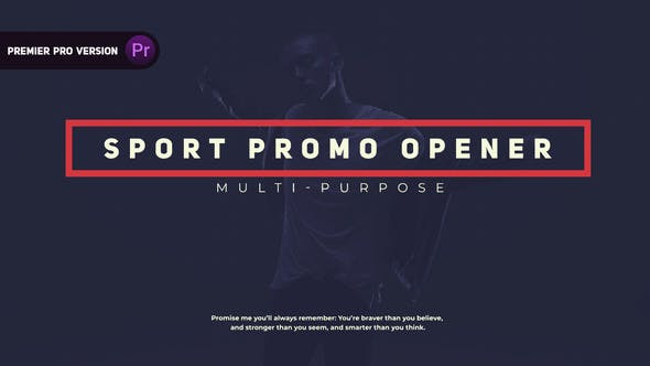 Thumbnail for Sport | Promo Opener