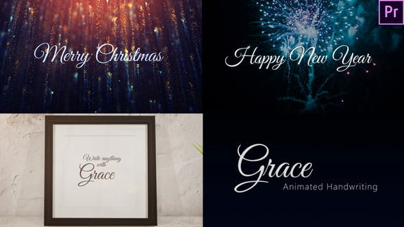 Thumbnail for Grace - Animated Handwriting Typeface