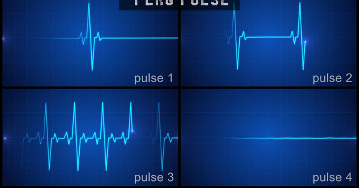 EKG Pulse Display Set