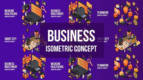 Thumbnail for Business Investment- Isometric Concept