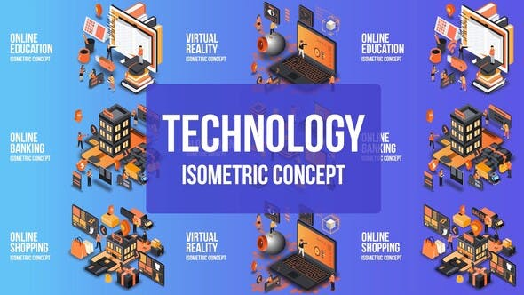 Thumbnail for Future Technology - Isometric Concept