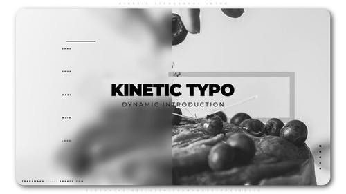 Kinetic Typography Intro