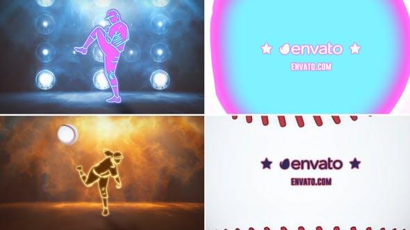 Thumbnail for Neon Baseball Logo
