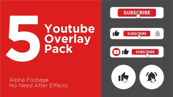 Cover Image for Clean Youtube Subscribe Button Pack