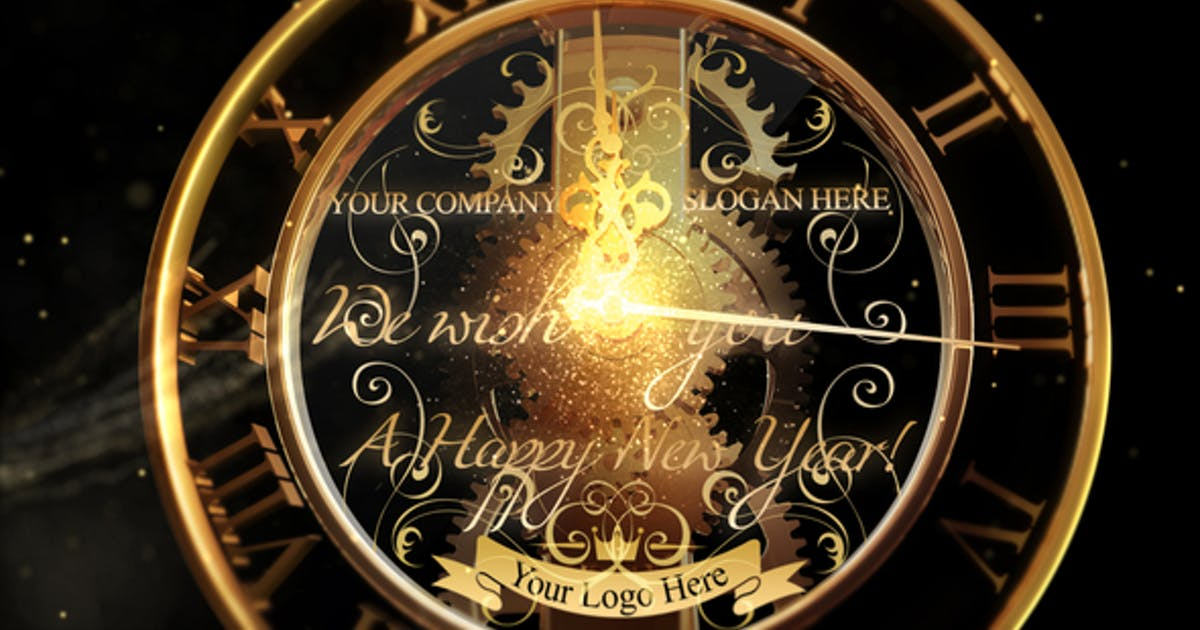 New Year Countdown Clock 2020 V2