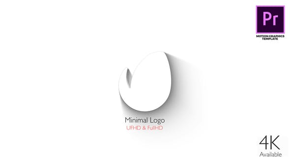Thumbnail for Logo Minimal - Elegante 3D Reveal