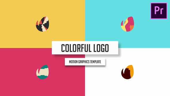 Modern & Clean Logo - Colorful Intro