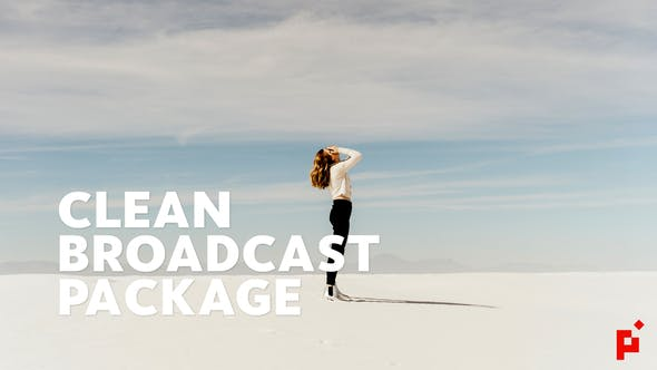Thumbnail for Clean Broadcast Package  | For Final Cut & Apple Motion