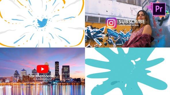 Thumbnail for Logo liquide | Premiere Pro