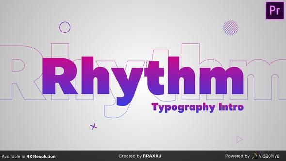 Thumbnail for Rhythm Typography Intro