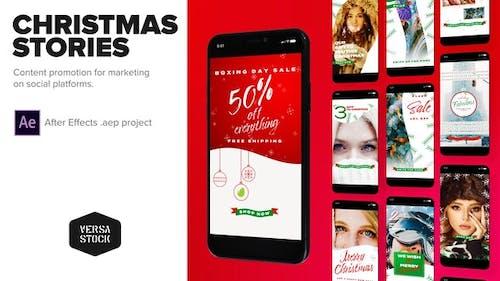 Weihnachten Social Marketing