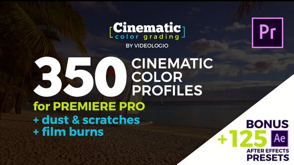Thumbnail for Cinematic Color Presets - Premiere Pro