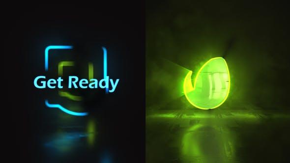 Thumbnail for Glow Stroke Logo Reveal
