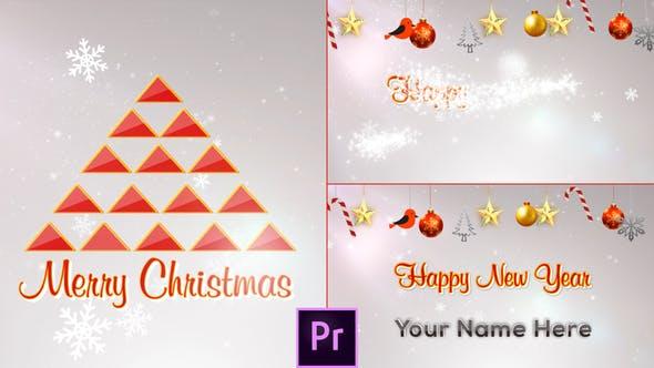 Thumbnail for Abridor de Navidad Minimal - Premiere Pro