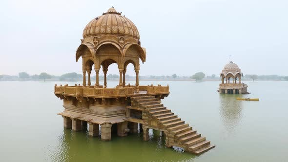 Thumbnail for Gadsisar Lake Jaisalmer, Nicknamed The Golden City