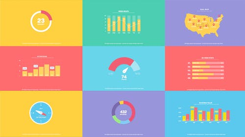 Flat Infographics Toolkit