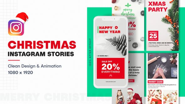 Christmas Instagram Stories