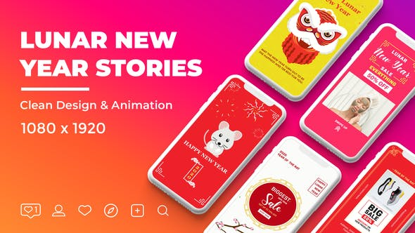 Thumbnail for Lunar New Year Instagram Stories