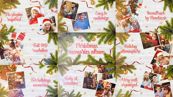 Thumbnail for Christmas Memories / Winter Holidays Photo Album / New Year Greetings / Xmas Slideshow