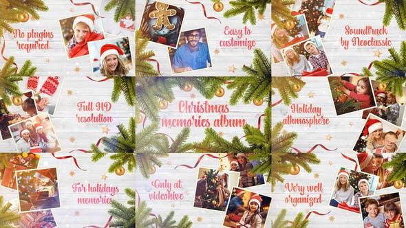 Christmas Memories / Winter Holidays Photo Album / New Year Greetings / Xmas Slideshow