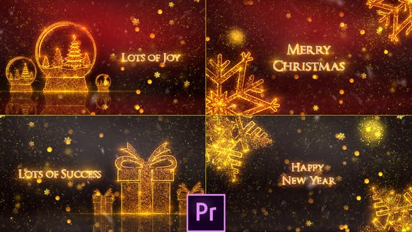 Thumbnail for Christmas Greeting Card - Premiere Pro