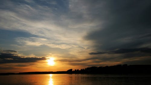 Sunset On The Danube River