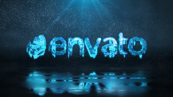Frozen Winter Logo Reveal