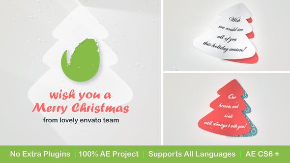 Thumbnail for Christmas Logo with Messages and Images