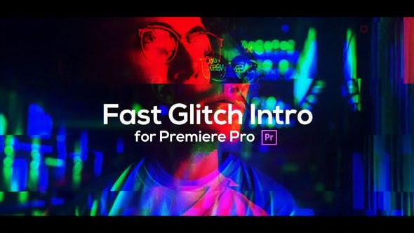 Thumbnail for Fast Glitch Intro for Premiere Pro