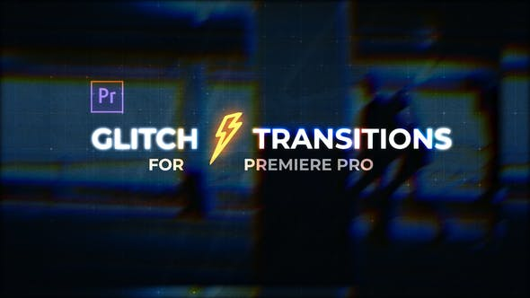 Thumbnail for Glitch Transitions for Premiere Pro