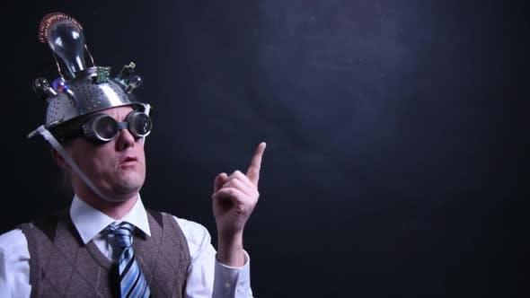 Thumbnail for Tin Foil Hat Man