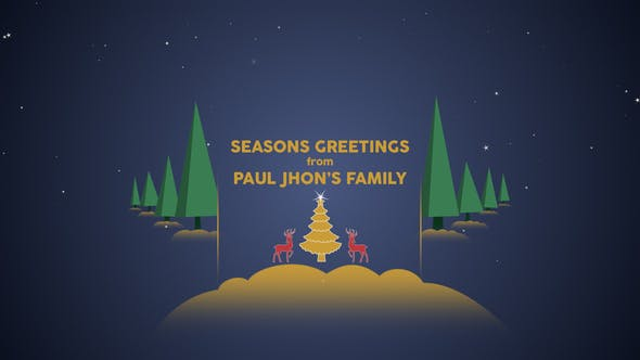 Thumbnail for Parallax Christmas Greetings