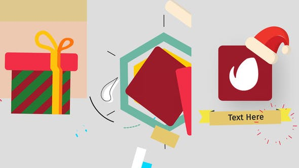 Thumbnail for Logo de Navidad Minimal