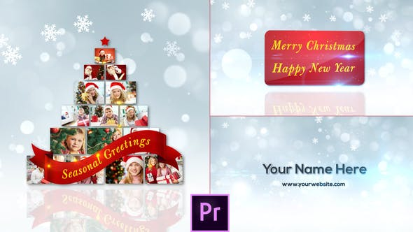 Thumbnail for Christmas Greetings - Premiere Pro