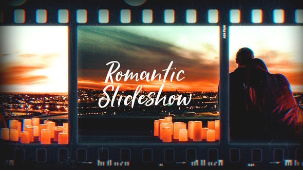 Thumbnail for Romantic Slideshow/Film Frames Slide