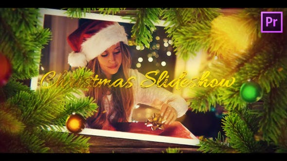 Thumbnail for Christmas Wishes Slideshow for Premiere Pro